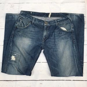 Guess jeans straight leg size 34 (Inb209)